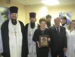 Освящение мытищинской городской поликлиники № 2