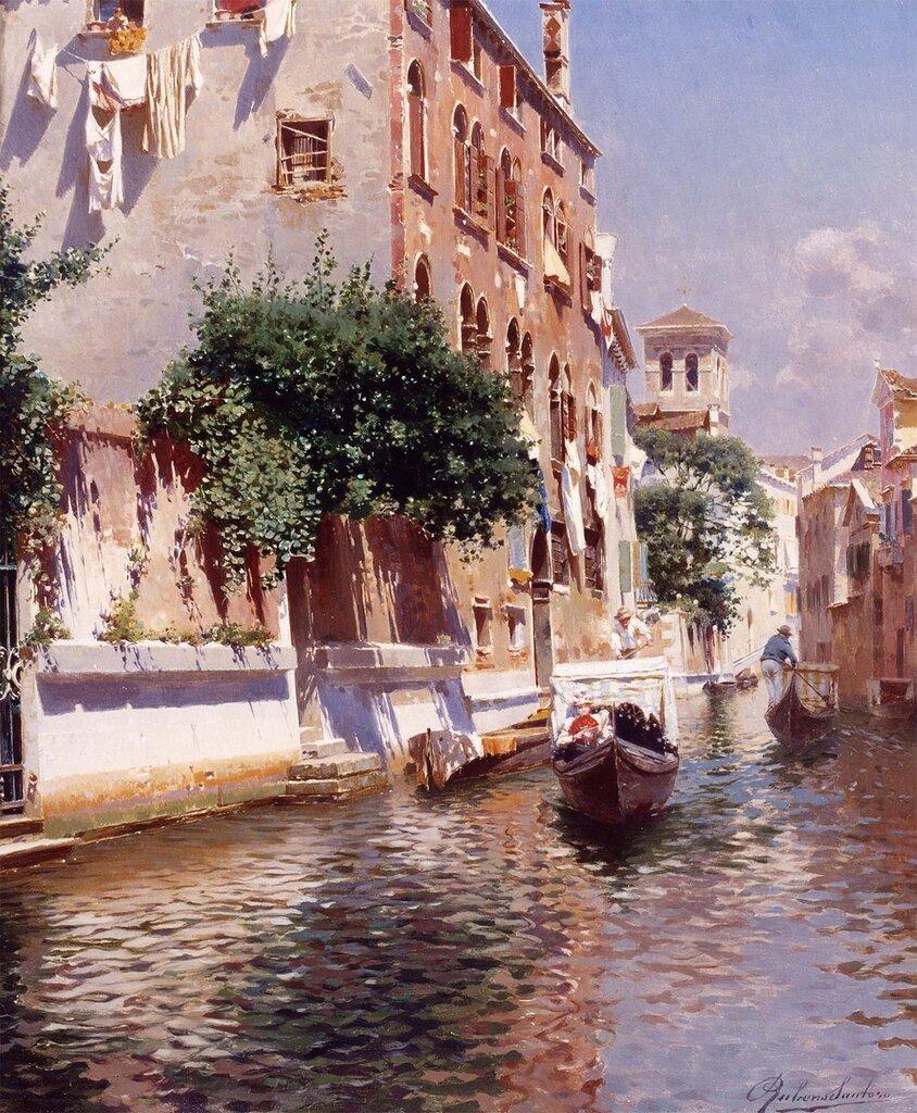 Rubens Santoro - St. Apostoli Canal, Venice - 12250-2426.jpg