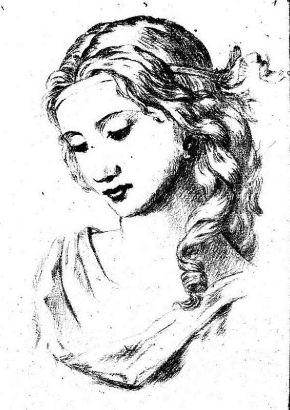 Рисунки Марины Цветаевой