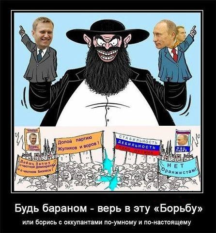 петрушки Путин и Навальный