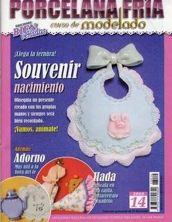Журнал Porcelana fria. Curso de modelado №14 2008