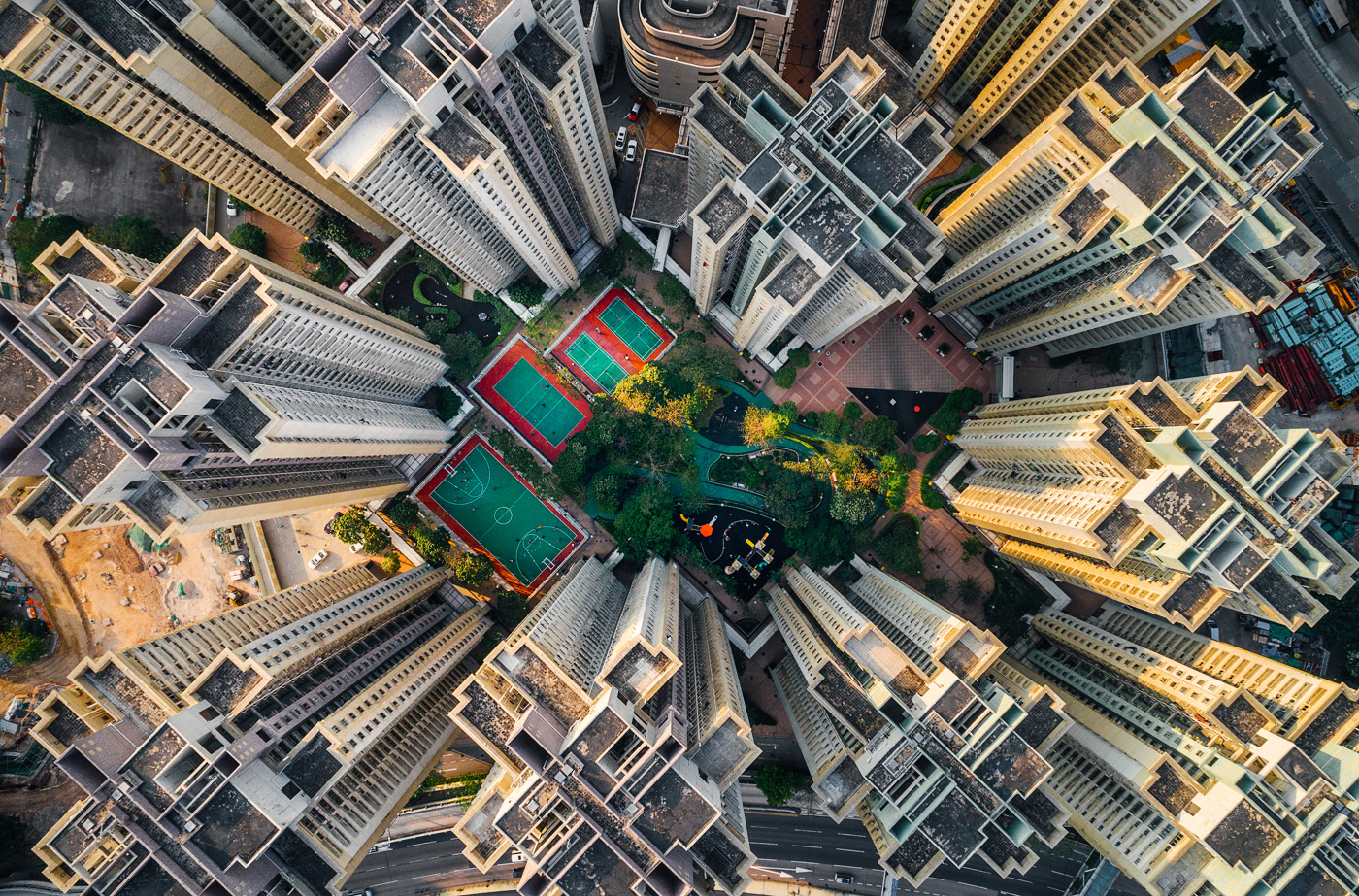 Stunning Drone Photographs of Hong Kong