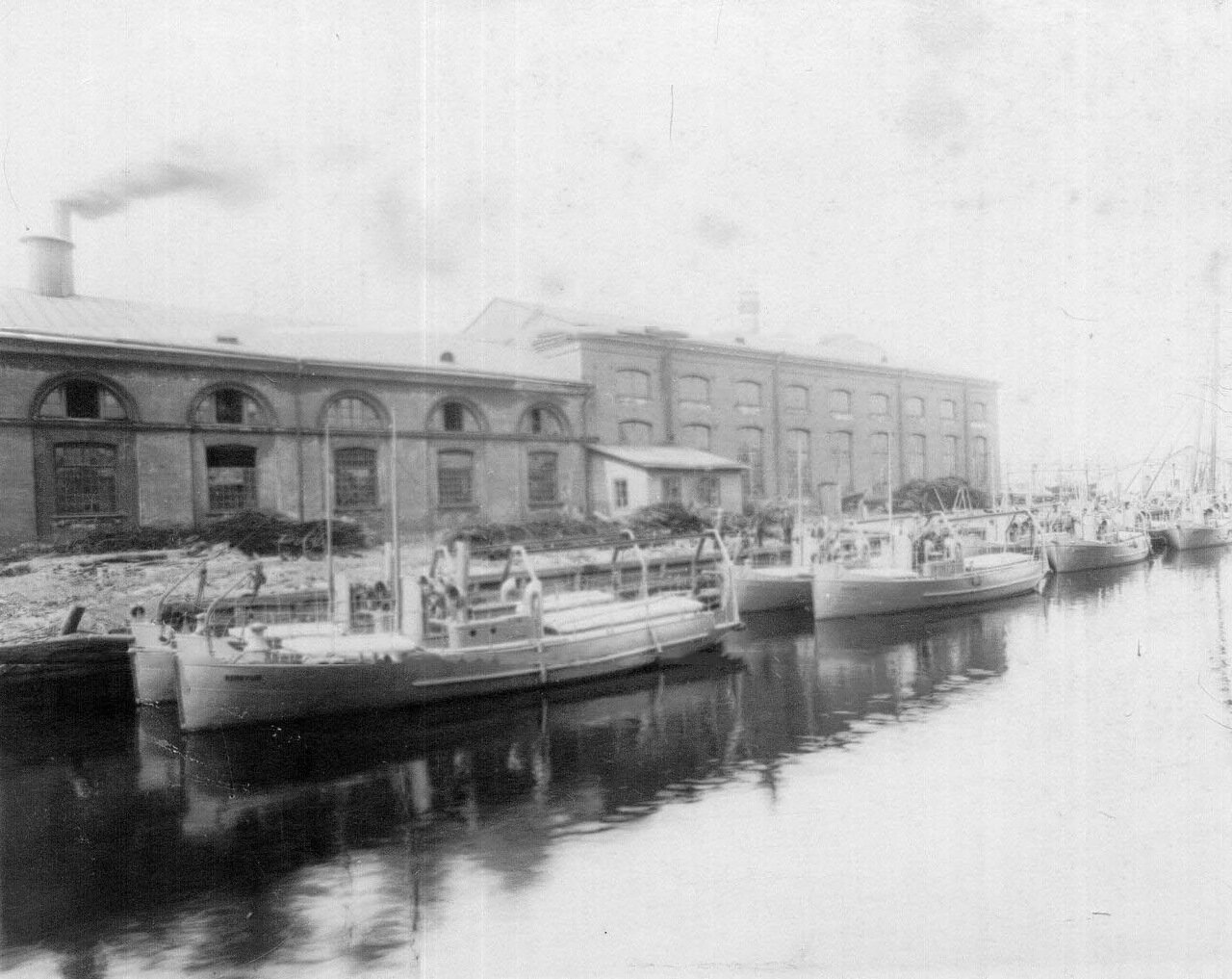 25. Суда, построенные на заводе. 1911
