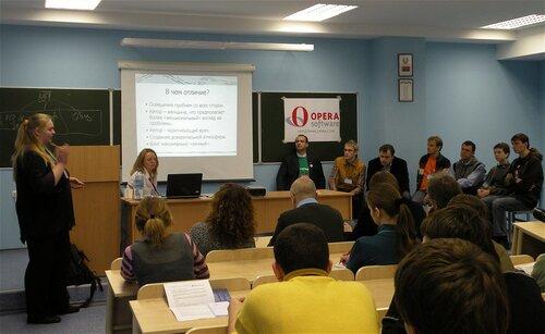 Минск: ByCamp2008. Медицинская блогиня