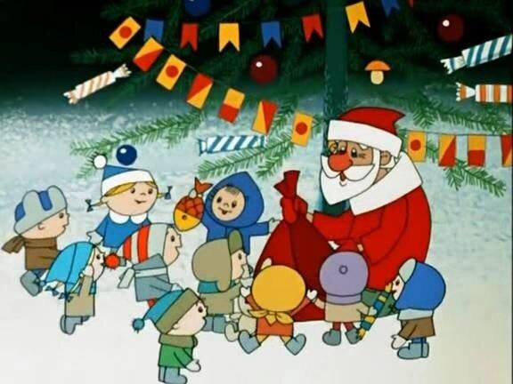 Про новый год детям мультфильмы