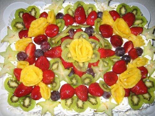 Рецепт торта С ФРУКТАМИ