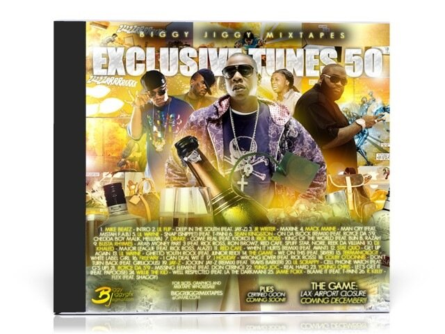 Biggy Jiggy Mixtapes - Exclusive Tunes 50 ( 2008 )