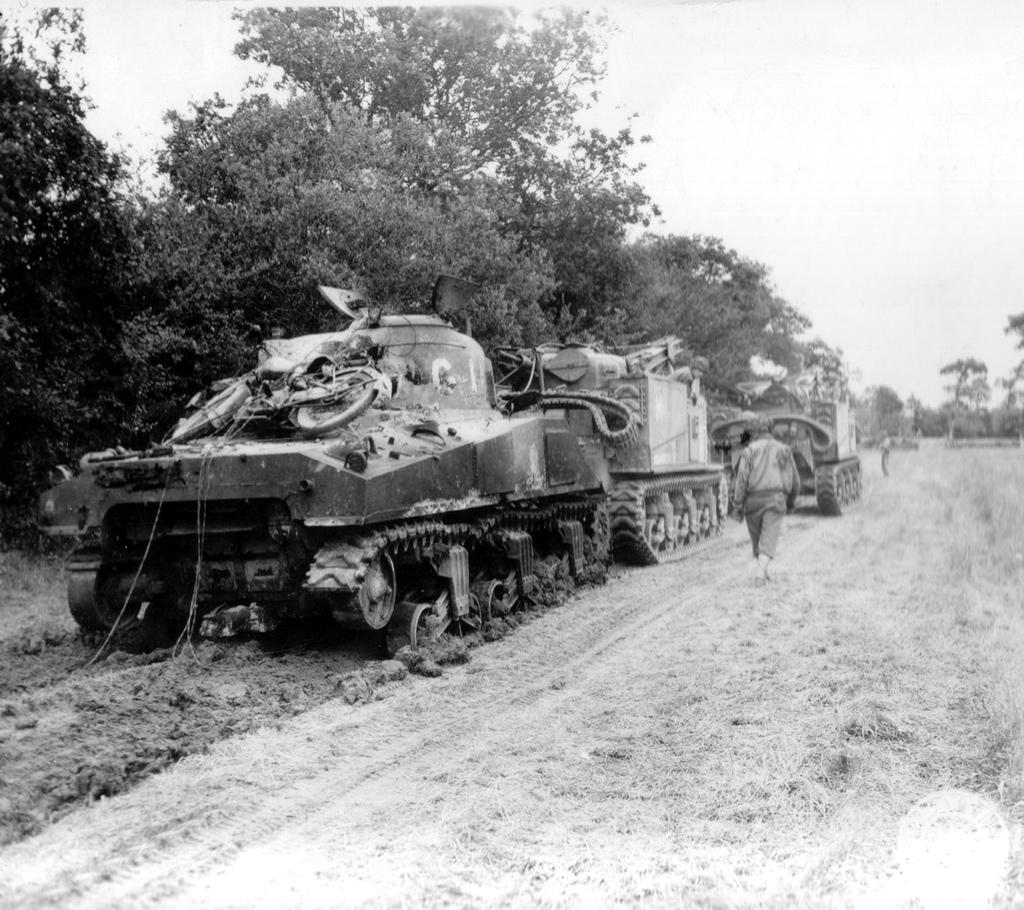 как эвакуировали немцы танки второй мирой