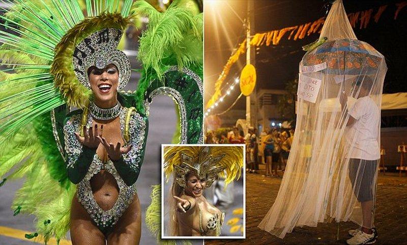 В Рио-де-Жанейро празднуют карнавал