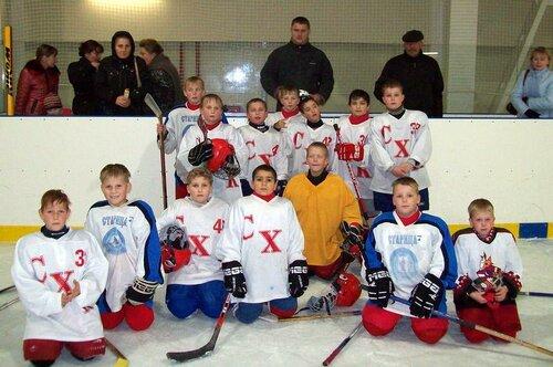 Хоккей – дело семейное!