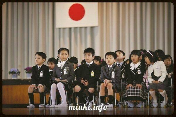 Японские школы. Первый раз в первый класс