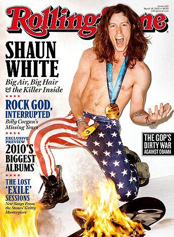 Shaun White на обложке Rolling Stone