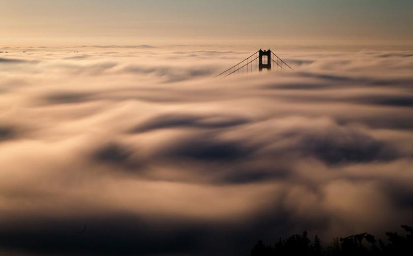 Красивые фотографии тумана в Сан Франциско, США 0 142281 5e4755a3 orig