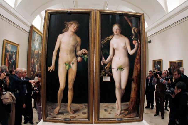 Адам и Ева. Сотни авторов   одна ошибка