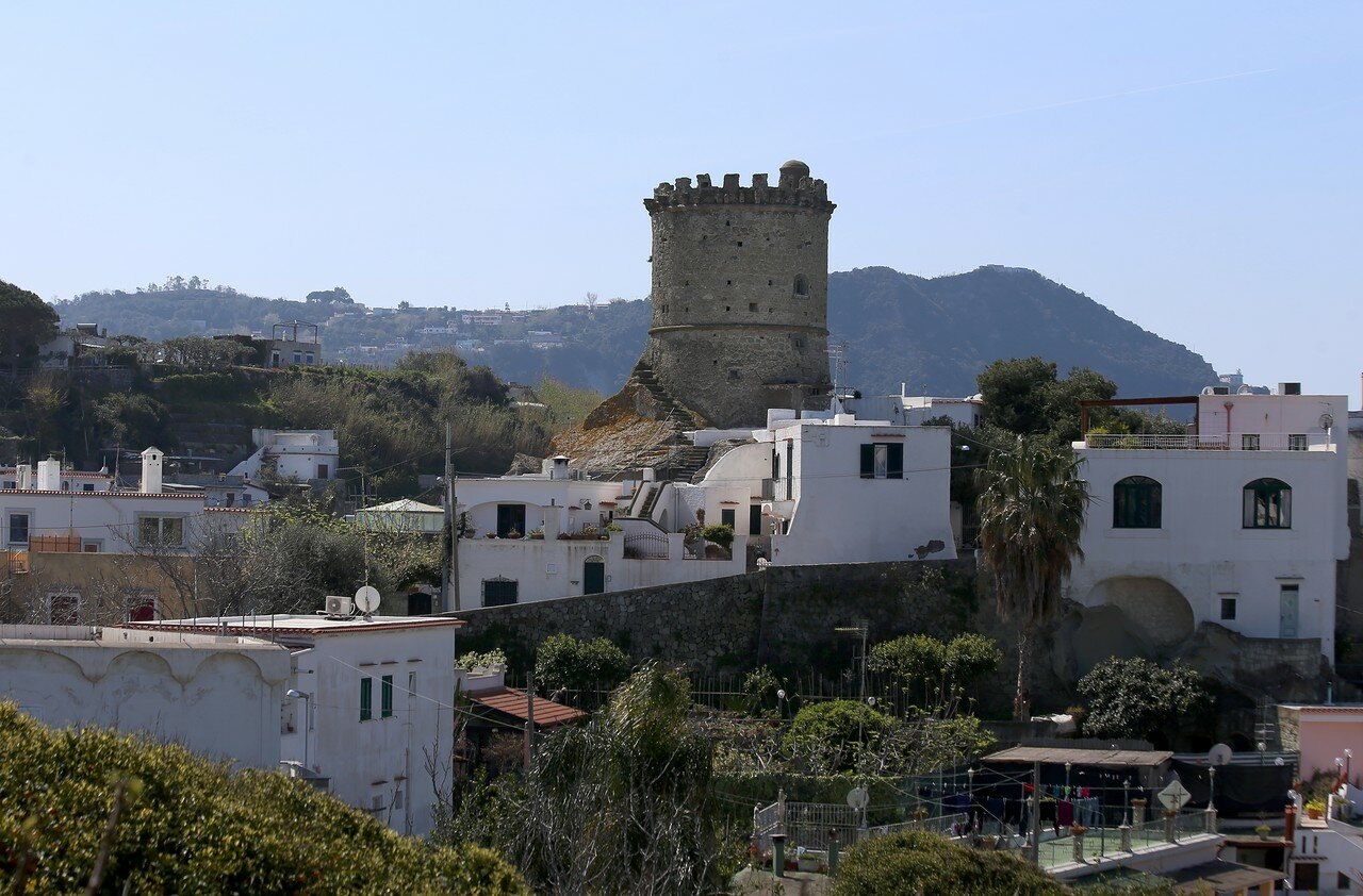 Ischia, Forio. The Torrione tower
