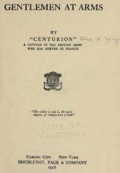Книга Gentlemen at arms