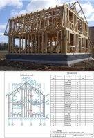 Журнал Проекты каркасных домов pdf 64Мб