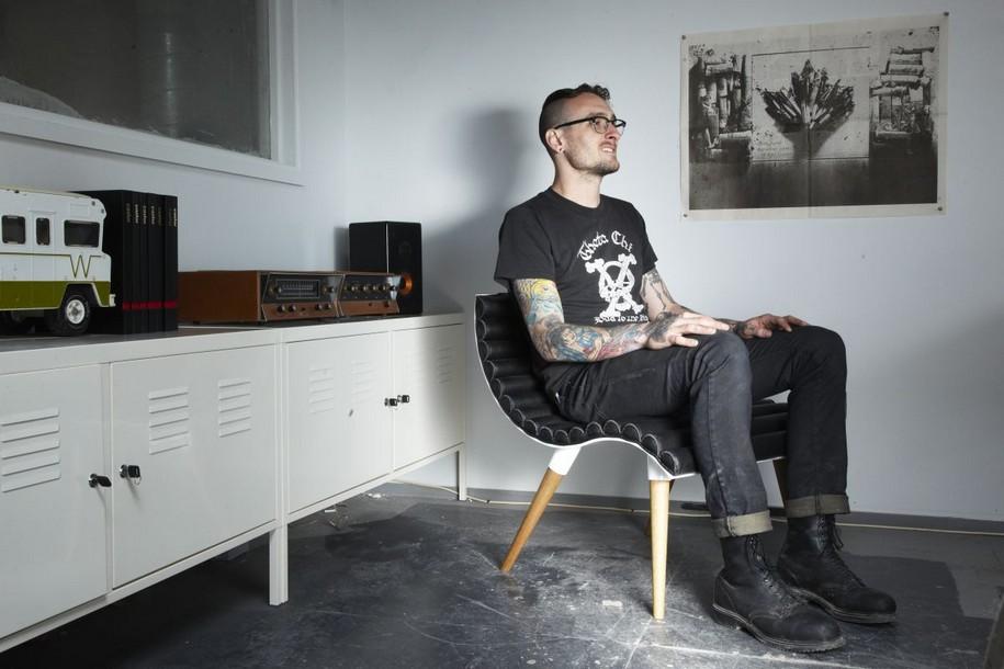 Кресло Curve Chair от Castor Design