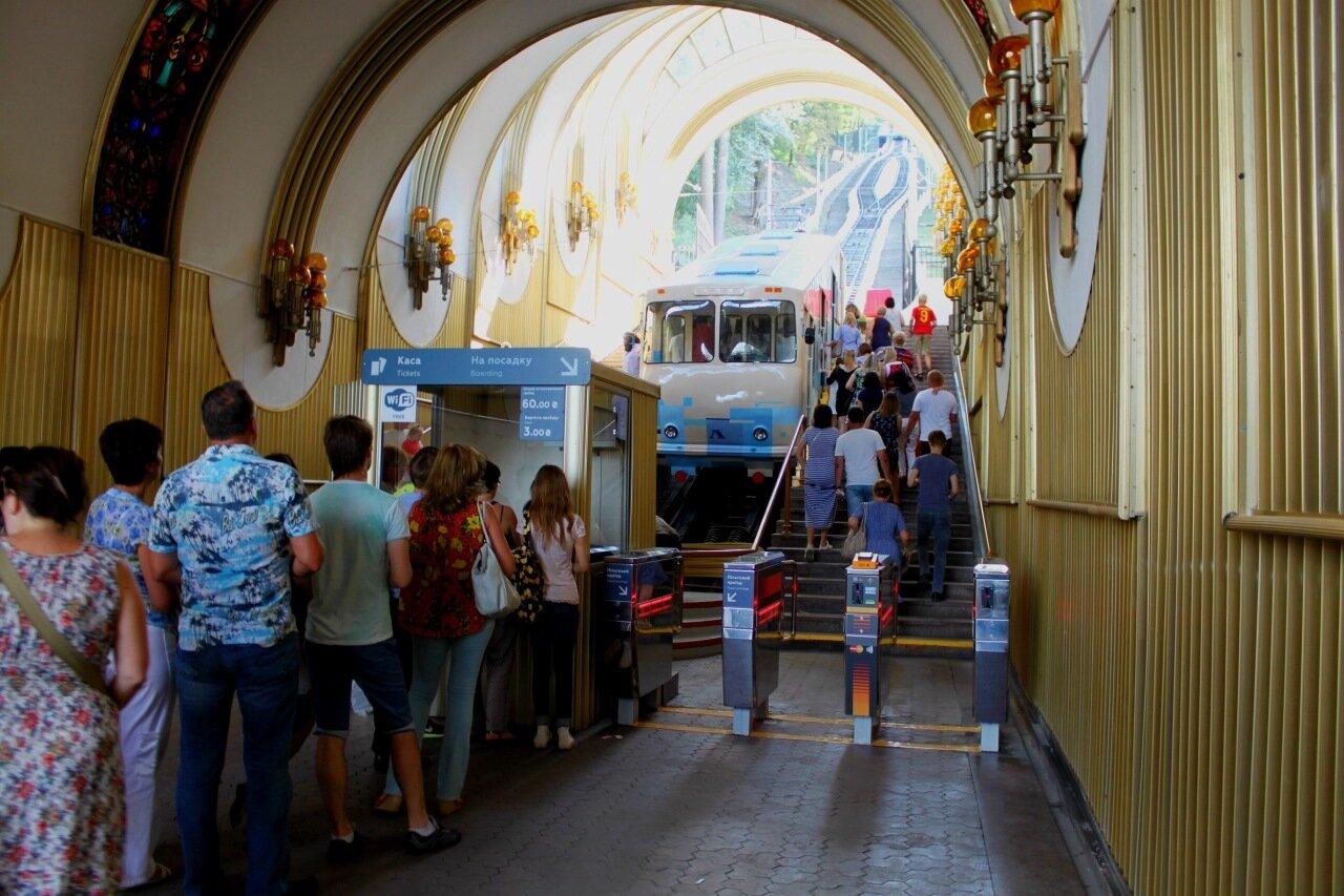 фуникулер нижняя станция киев украина