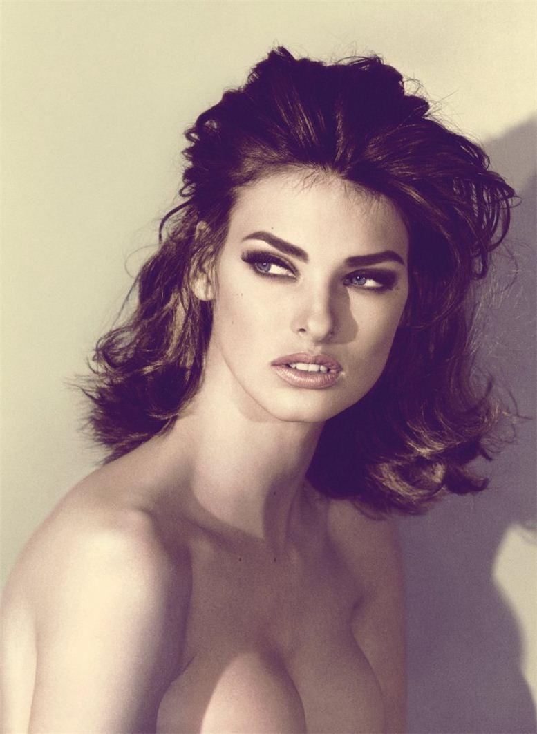 модель Линда Эвангелиста / Linda Evangelista, фотограф Steven Meisel