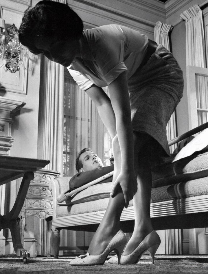 Elizabeth TaylorPaul Newman1950sCat on a Hot Tin Roof