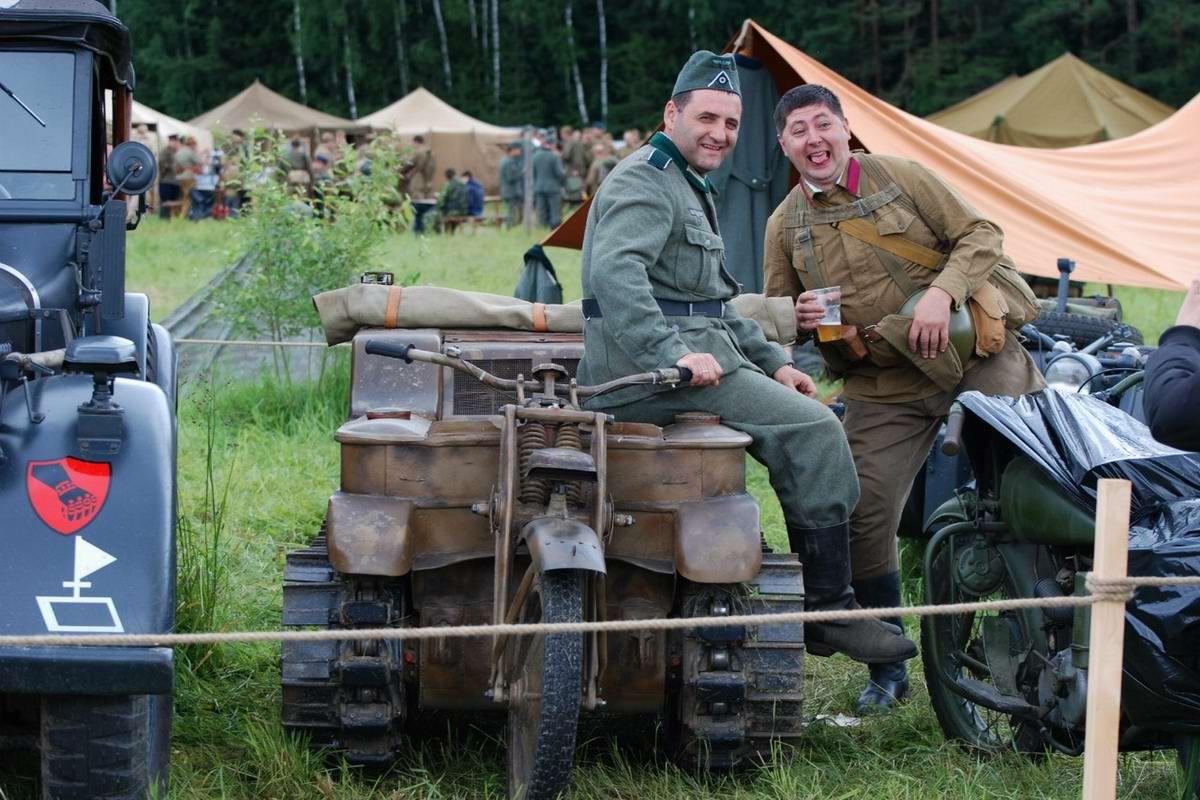 Забавные моменты из жизни военных реконструкторов (73)