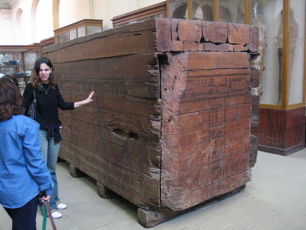 Каирский музей. Египет