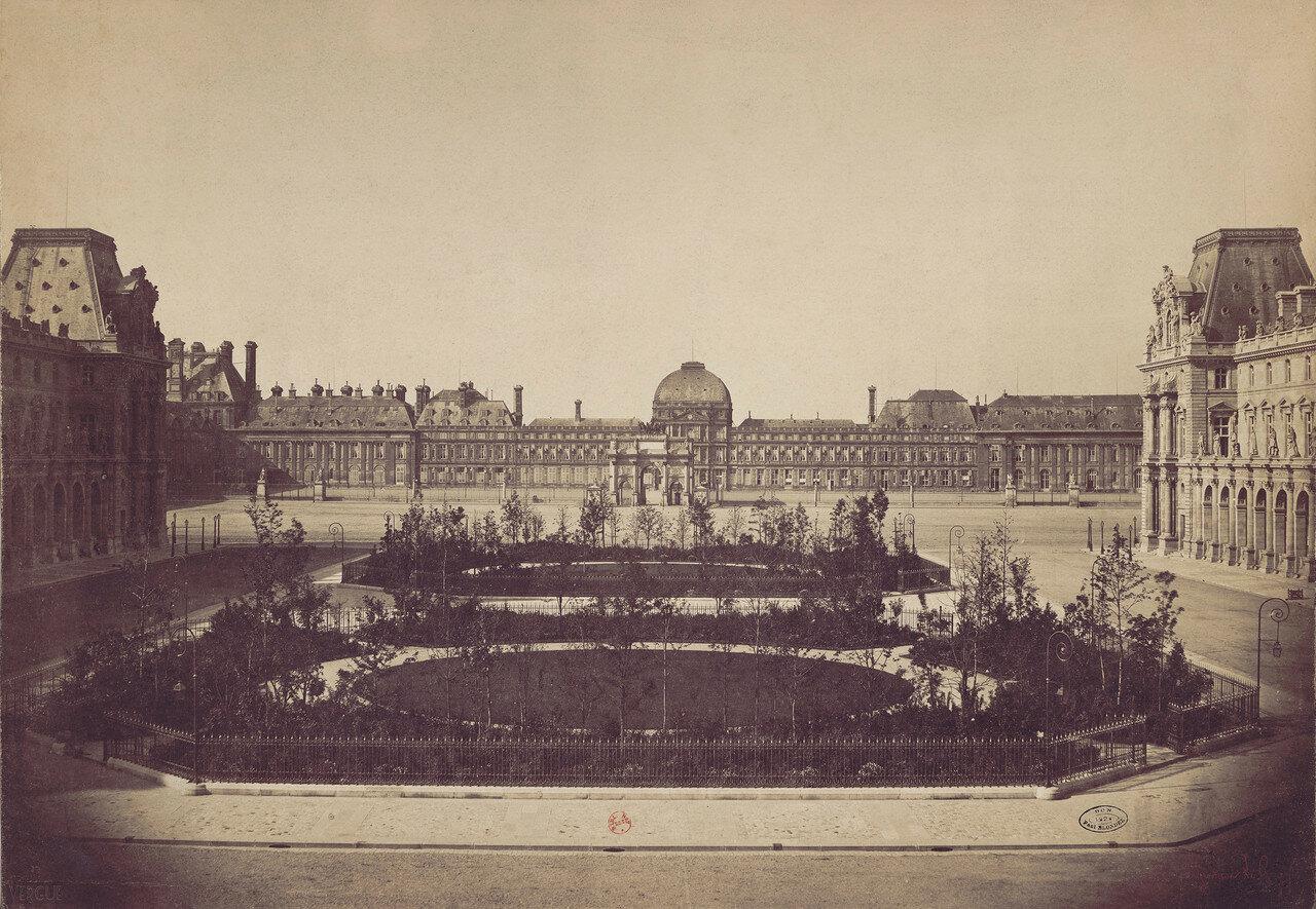 1859. Площадь Луи-Наполеона и дворец Тюильри