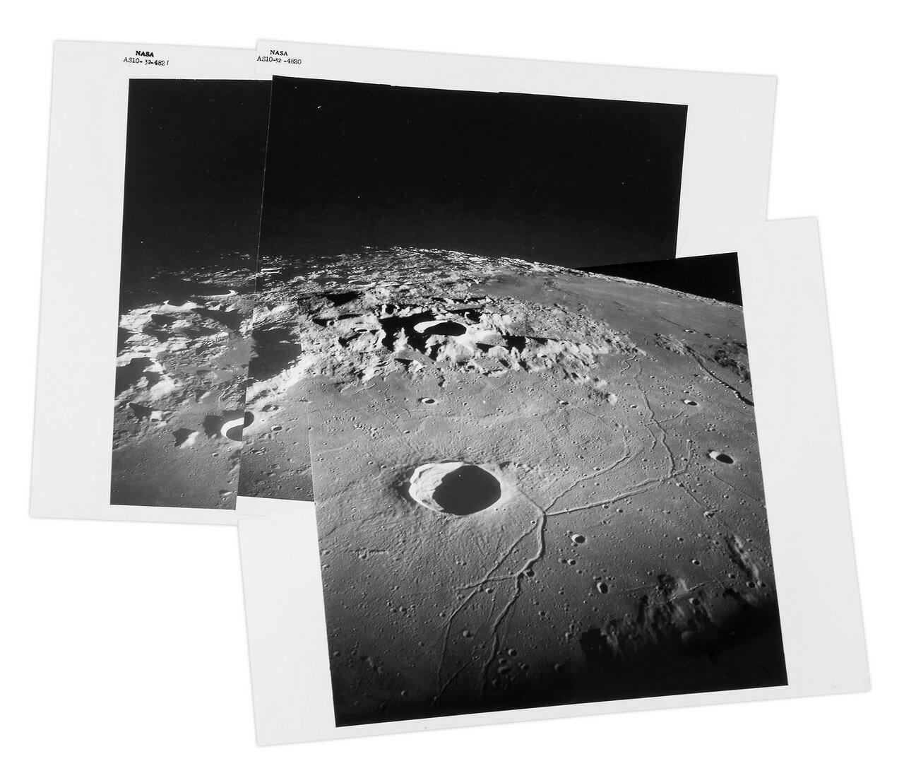 1969. май. Панорама лунной поверхности
