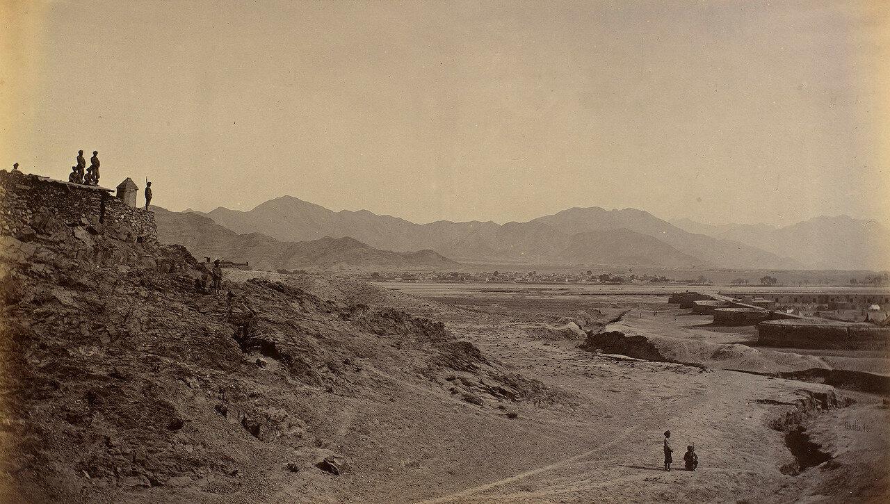 Крепость Дакка и река Кабул