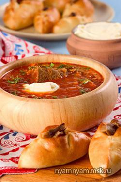 Суп из свежих помидоров с капустой