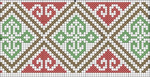Грузинские орнаменты и узоры 70