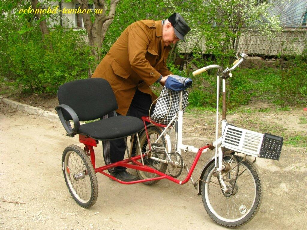 Как сделать велосипед с прицепом