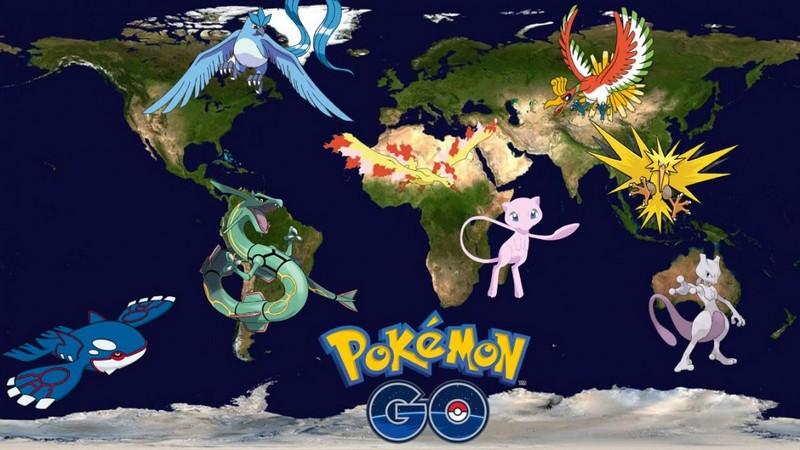 Покемоны захватили наш мир