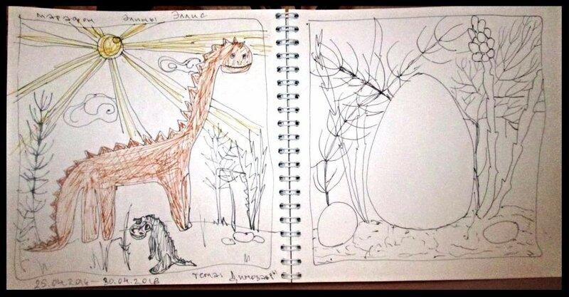 неделя динозавров