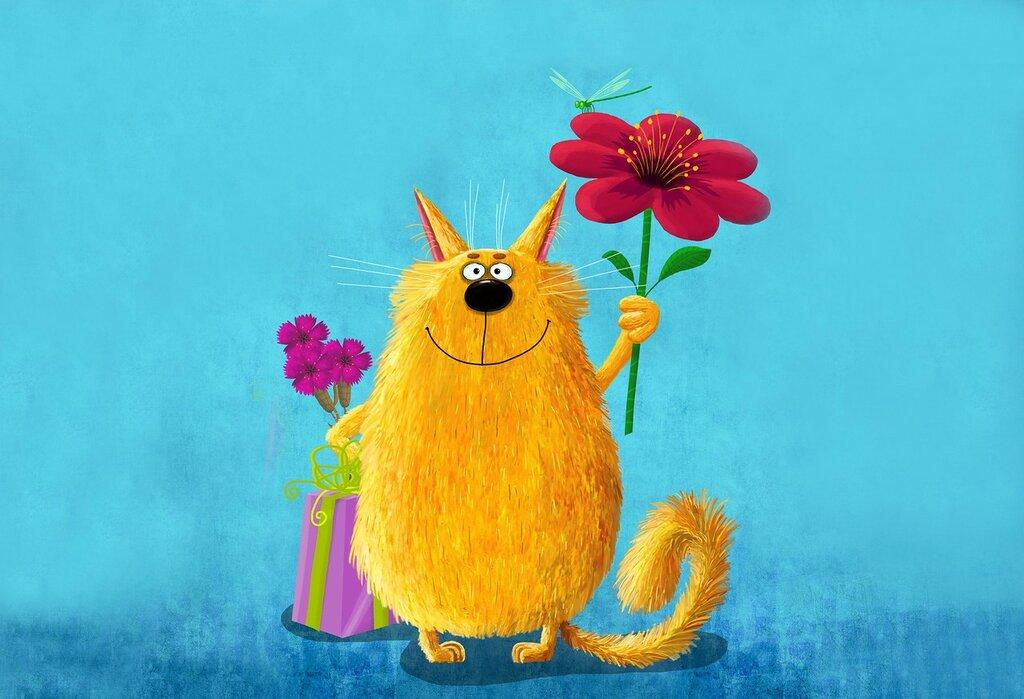 арт-живопись-картина-кот-цветок-подарок3668x2505.jpg