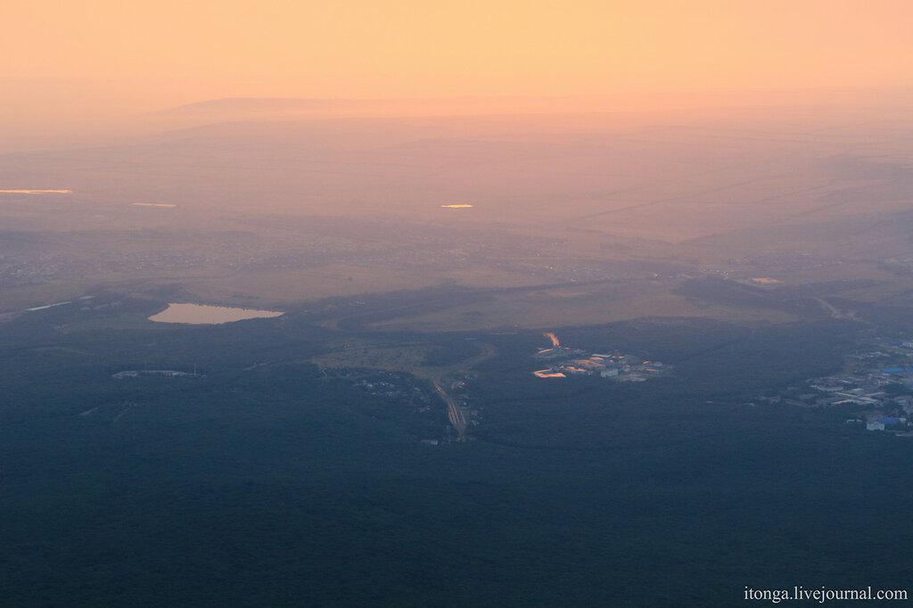 Рассвет на вершине Бештау