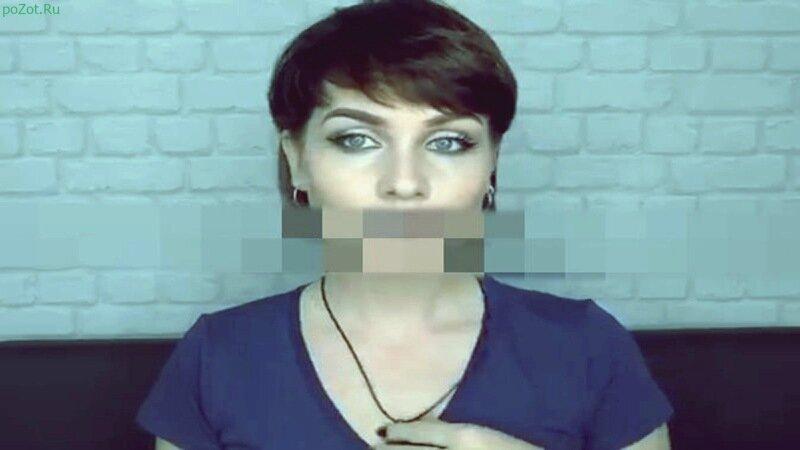 Девушка с собачкой покажет силу макияжа на видео