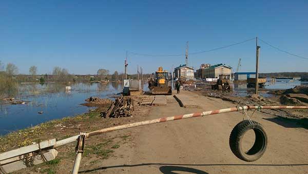«Новое Сергеево» будут спасать от паводка