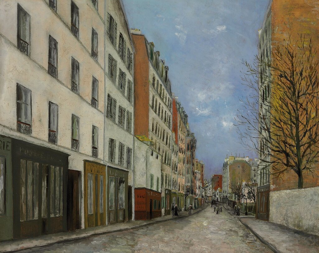 Marcadet Street at Montmartre, 1910-12.jpg