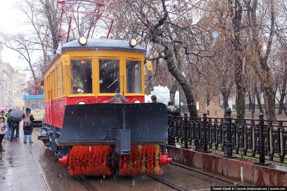Парад трамваев 2016