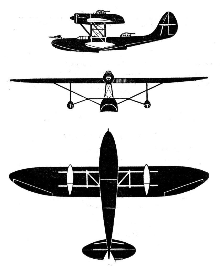 Силуэты итальянских самолетов (1939) 065