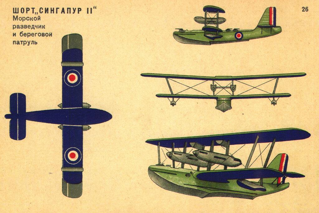 Военные самолеты Англии (1934) 26