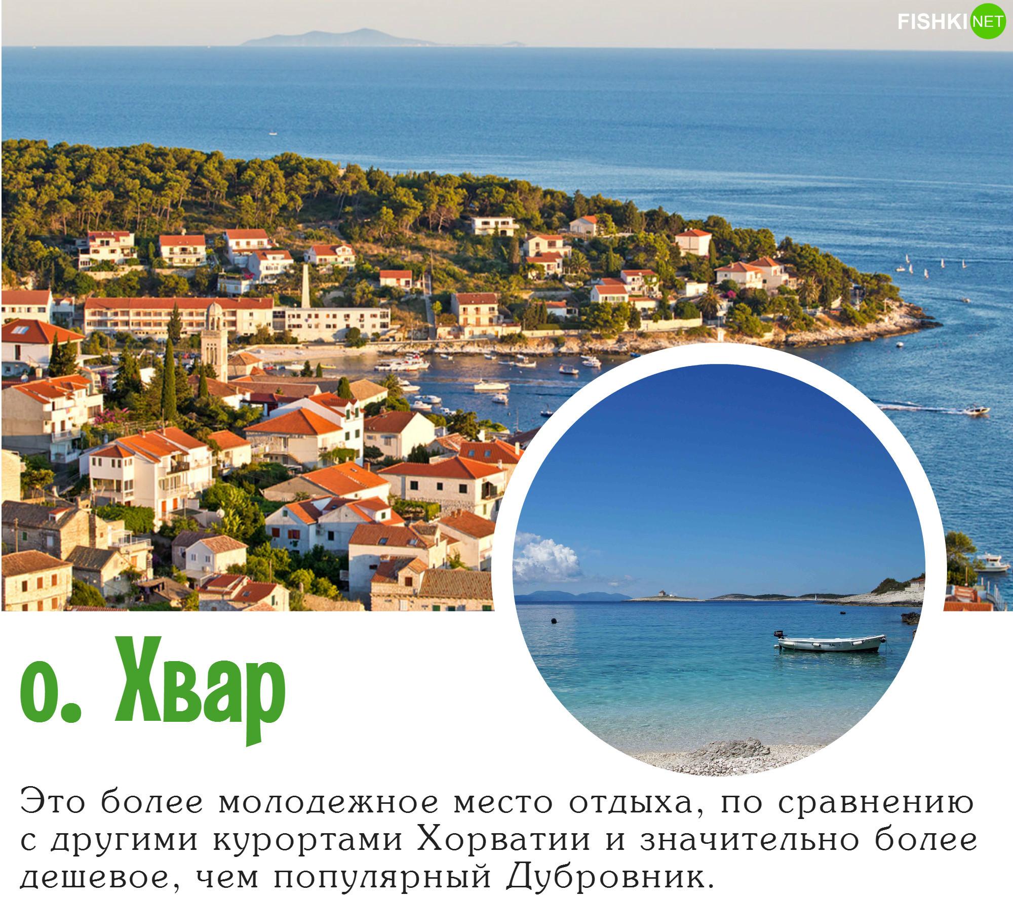 Хвар – самый солнечный остров Адриатики (2718 солнечных часов в год). Если вы посетите это мес