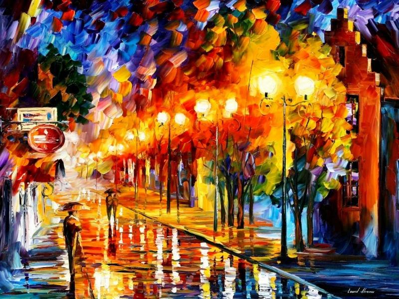 Сказочные пейзажи Евгения Лушпина Евгений Лушпин является одним из популярных художников совреме