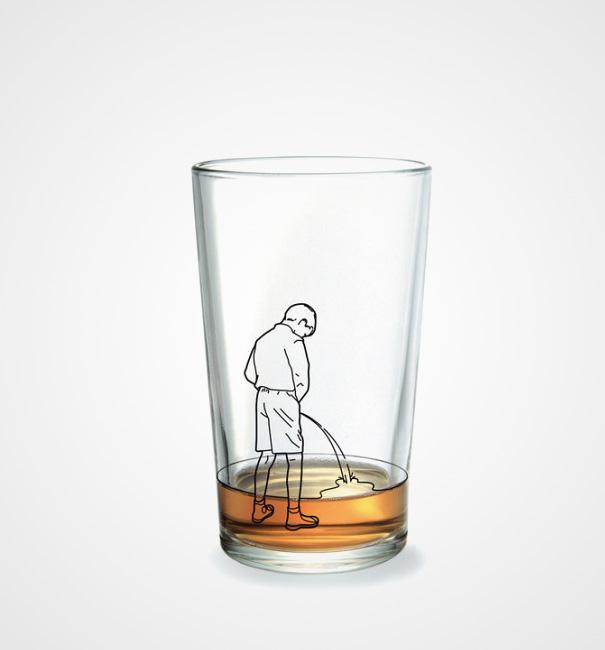Дизайнеры изDonkey Products сделали серию стаканов, изкоторых осмелятся пить только люди сотменны