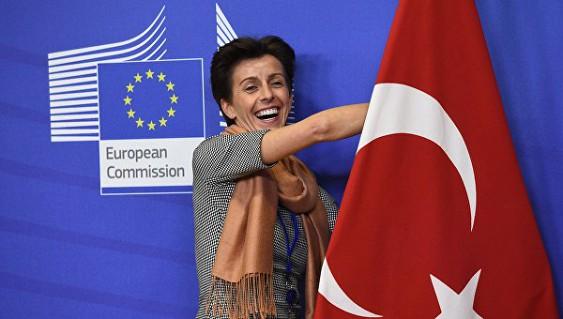 Европарламент остановил работу поотмене виз для Турции