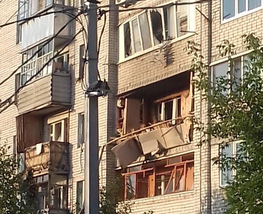 ВБрянской области в итоге взрыва газа вдоме пострадало шесть квартир