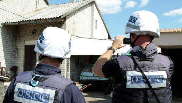 ВСУ обстреляли Народную милицию ЛНР изгранатомета