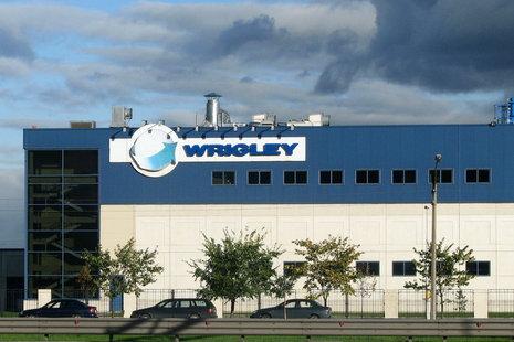 Wrigley назаводе вПетербурге запустила новейшую линию попроизводству жевательной резинки